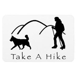 Take a Hike Magnet-Husky & Hills Magnet