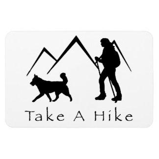 Take a Hike Magnet-Husky Magnet
