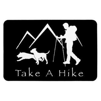 Take a Hike Magnet-Pitbull/Black Magnet