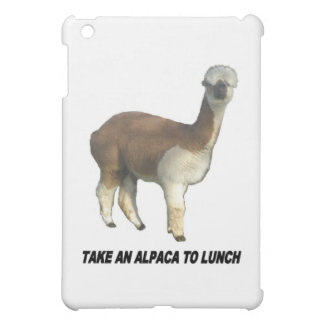 Take an alpaca to lunch cover for the iPad mini