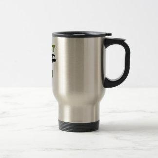 Take It Easy Stainless Steel Travel Mug