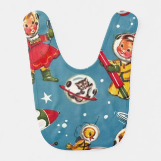 Take Me to The Moon Bib