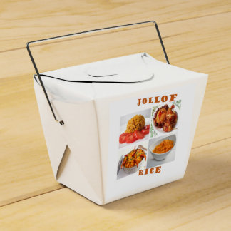 Takeaway Lunch Box Party Favour Boxes