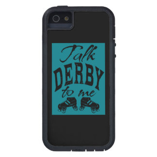 Talk Derby to me, Roller Derby iPhone 5 Cover