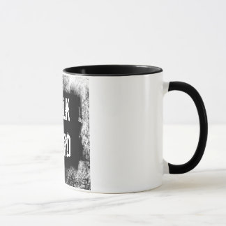 Talk Hard! Pump Up The Volume inspired Mug