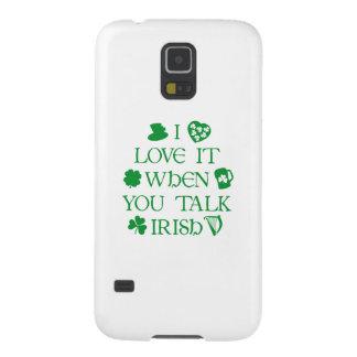 Talk Irish To Me Galaxy S5 Cover