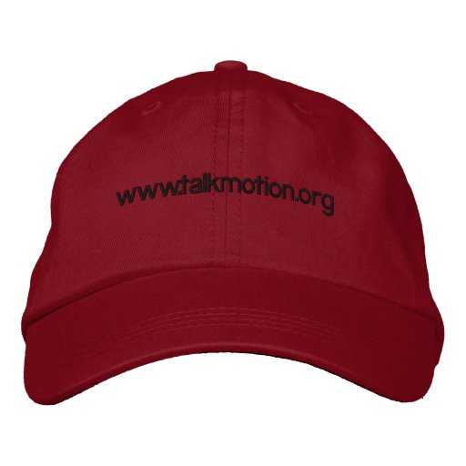 Talk motion Hat Embroidered Hat