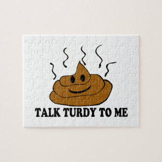 Talk Turdy To Me Jigsaw Puzzle