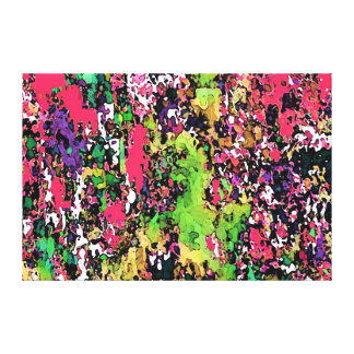 """Talking Colors ~Wrapped Canvas 75"""" Abstract Modern"""