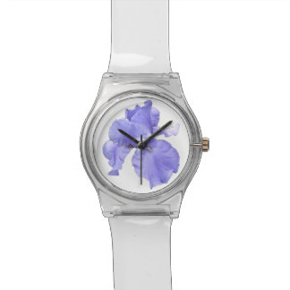 Tall Bearded Purple Iris Watch
