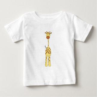 Tall Cute Giraffe. Cartoon Animal. T Shirts
