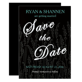Tall Grass Save the Date Card