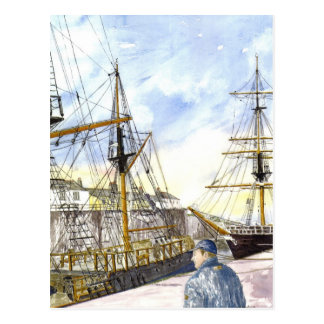 Tall Ships Admired Postcard