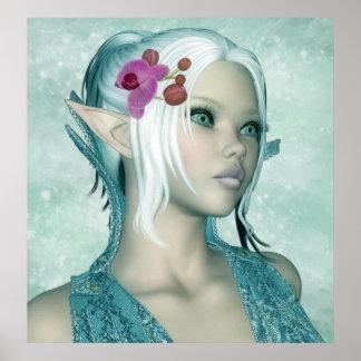 Tamara - Elven Princess Of Inspiration Posters