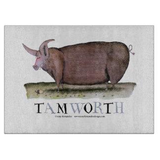 tamworth pig, tony fernandes cutting board