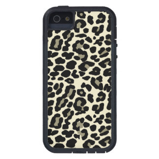 tan and coffee  fashionable leopard print case for iPhone 5
