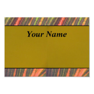 Tan Orange Card