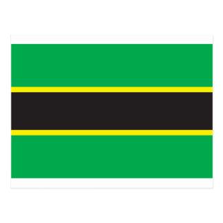 Tanganyika Flag (1962) Postcard