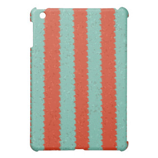 Tangerine and Mint Mosaic Case For The iPad Mini