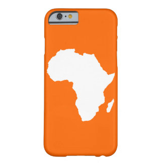 Tangerine Audacious Africa Barely There iPhone 6 Case