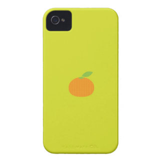 Tangerine iPhone 4 Case-Mate Cases