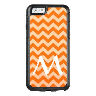Tangerine Moroccan Moods Chevrons with Monogram OtterBox iPhone 6/6s Case