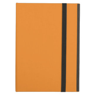 Tangerine Orange template to personalize Customize Case For iPad Air
