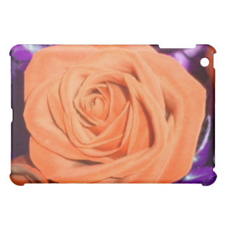 Tangerine Rose iPad Case