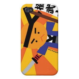 Tangerine Samurai iPhone4 Case Case For The iPhone 4