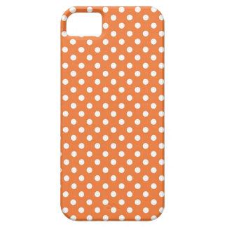 Tangerine Small Polka Dot iPhone 5 Case