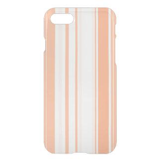 Tangerine Stripes Varied Sizes Geometric Pattern iPhone 7 Case