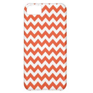 Tangerine Tango Chevron Iphone 5 Case