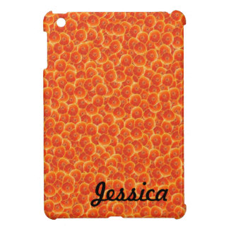 Tangerine Tango Pattern iPad Mini Cover
