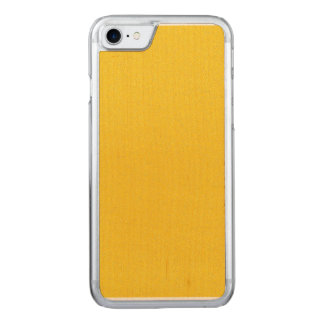 Tangerine Yellow Star Dust Carved iPhone 7 Case