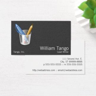 Tango Pen & Pencil Business Card