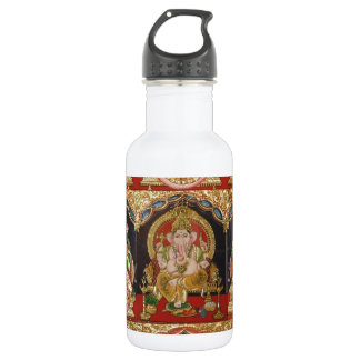 TANJORE PAINTING ASHTALAKSHMI SOUTH INDIA 532 ML WATER BOTTLE