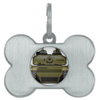 Tank Front Pet Tag
