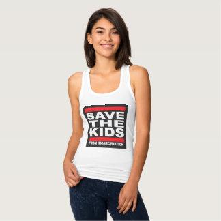 Tank Top Save the Kids Shirt for Women