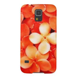 Tantalizing Tangerine Orange Blossoms Nature Flora Galaxy S5 Cover