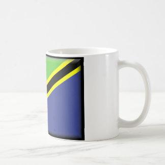 Tanzania Flag Coffee Mugs