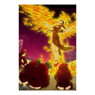 TAOFEWA - Gabija of the Phoenix Order Poster