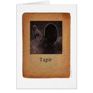 Tapir Card