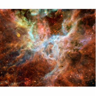Tarantula Nebula Space Astronomy Standing Photo Sculpture