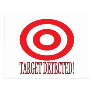 Target Detected Postcard