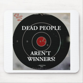 TARGET PRACTICE FUNNY PHRASES 1 MOUSE PAD
