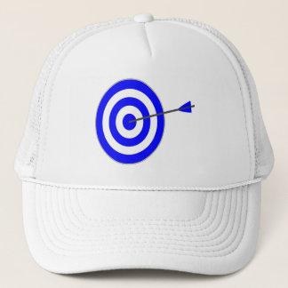 Target with arrow trucker hat