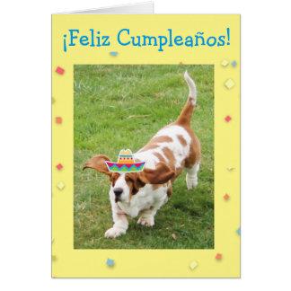 Tarjeta de cumpleaños divertida con los perros de card