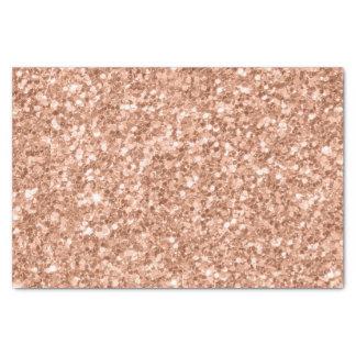 Tarnished Gold Glitter Texture Print Tissue Paper