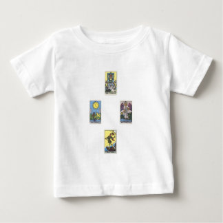 Tarot 4 maps put spread 4 cards CROSSes to cross Baby T-Shirt