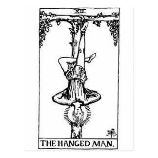Tarot card 'hanged man'
